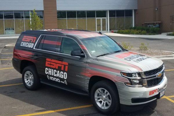 Broadcast Media Vehicle Graphics 1