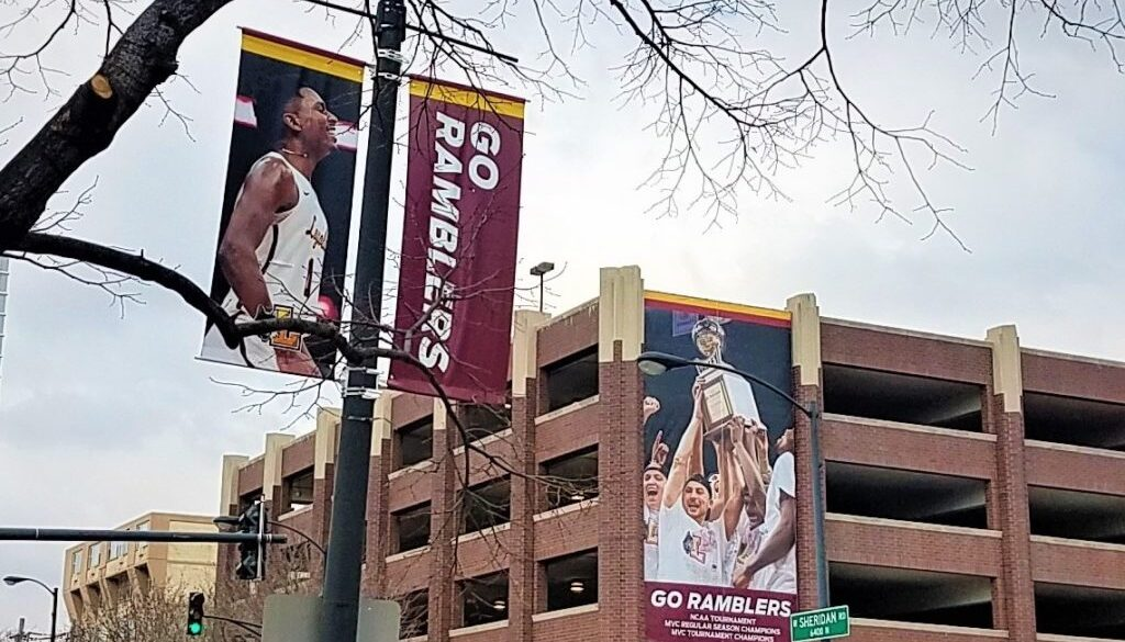 Loyola banners